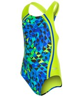 Speedo Girls' Spectrum Split Sport Splice One Piece (7-16)
