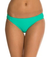 Jessica Simpson Sea Glass Side Shirred Hipster Bottom