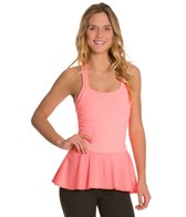 Beyond Yoga Ethereal Peplum Racerback Top