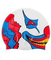 Sporti Twisted Smile Silicone Swim Cap