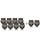 Accusplit S3E Survivor Pro Event Stopwatches 8 Unit Kit + 2 Free S3CL Survivor Pro Split Stopwatches