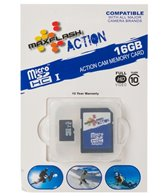Prime Memory Solutions 16GB Action Micro SDHC Memory Card