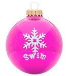 Bay Six Swim Snowflake Ornament