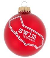 Bay Six California State Swim Ornament