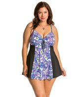 Fit4U Plus Size Dolce Swim Dress