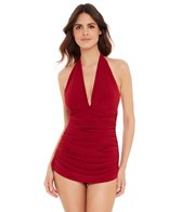 Magicsuit by Miraclesuit Shirred Solid Yvonne One Piece