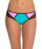 Bikini Lab Sporty Splice Hipster Bottom