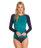 Tommy Bahama Deck Piping L/S Rashguard