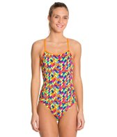 Funkita Glow Knit Single Strap One Piece Swimsuit