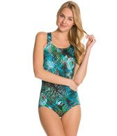 T.H.E Trinidad Swimmer's Back One Piece