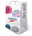 Speedo Women's Silicone Swim Cap Grab Bag