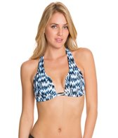 Sunsets High Tide Slide Shirred Halter Top