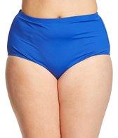 La Blanca Plus Size Core Solid Hi-Rise Pant