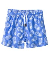 98 Coast Av. Boys' Blue Pineapple Swim Trunks (1-12yrs)