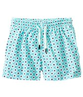 98 Coast Av. Boys' Aqua Flowers Swim Trunks (1-12yrs)
