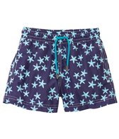 98 Coast Av. Boys' Crazy Blue Star Swim Trunks (1-12yrs)