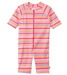 iPlay Girls' One Piece Zip Sunsuit (3mos-3T)