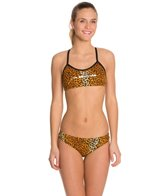 Slix Australia Miss Kitty Women's Racer Back Swimsuit Set