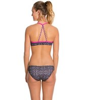Slix Australia Hot Pink Flicka Women's Arrow Back Swimsuit Set