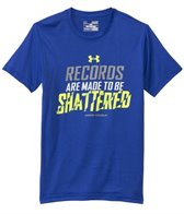 Under Armour Boys' Records Shattered S/S Tee (6yrs-20yrs)