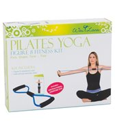 Wai Lana Pilates Yoga Figure 8 Fitness Kit w/Poster
