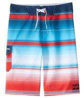 Billabong Boys' All Day X Stripe Boardshort (8yrs-14yrs+)