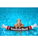 Big Mouth Toys Tootsie Roll Inflatable Pool Noodle