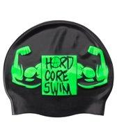 HARDCORESPORT Arnold Silicone Swim Cap