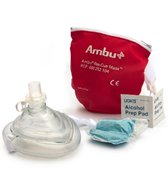 KEMP Ambu CPR Mask in Red Pouch