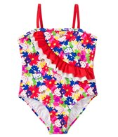 Hello Kitty Girls' Poppy Petal Ruffle One Piece (2T-4T)