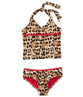 Hello Kitty Girls' Stars & Stripes Halter Tankini Set (4yrs-6X)