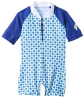 Platypus Australia Boys Sailor Stripe One Piece Sunsuit (6M-24M)