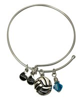 Totally Stroked Silver Water Polo Bracelet