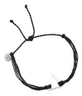 Pura Vida Silver Triangle Black Bracelet