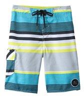 O'Neill Boys' Santa Cruz Stripe Boardshort (8yrs-14yrs+)