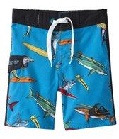 Quiksilver Boys' Shark Surf Boardshort (12mos-24mos)