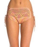 O'Neill Anna Sui Love Birds Crochet High Waist Bikini Bottom