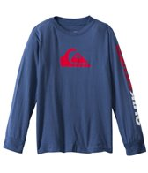 Quiksilver Boys' Mountain & Wave Solid L/S Tee (4yrs-7yrs)