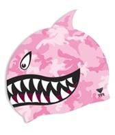 TYR Shark Fin Junior Silicone Cap
