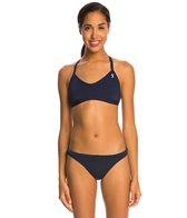 Illusions Navy Two Piece Swimsuit Set