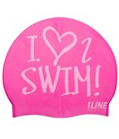 1Line Sports Silicone I Love To Swim!