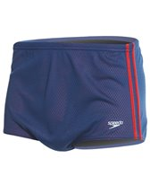 Speedo Solid Poly Mesh Square Leg