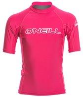 O'Neill Youth Basic Skins S/S Crew Rashguard