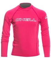 O'Neill Youth Basic Skins L/S Crew Rashguard
