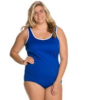 Tuffy Plus Size Active Tank One Piece