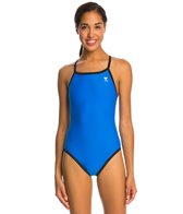 TYR Solid Reversible Diamondfit Swimsuit