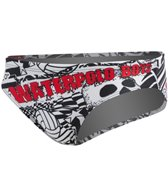 Turbo Black and White Skull Water Polo Suit