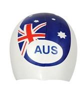 Sporti Silicone Australia Cap