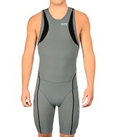 TYR Carbon Men's Zipper Back Short John