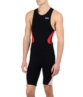 TYR Carbon Men's Zipper Back Short John w/Pad